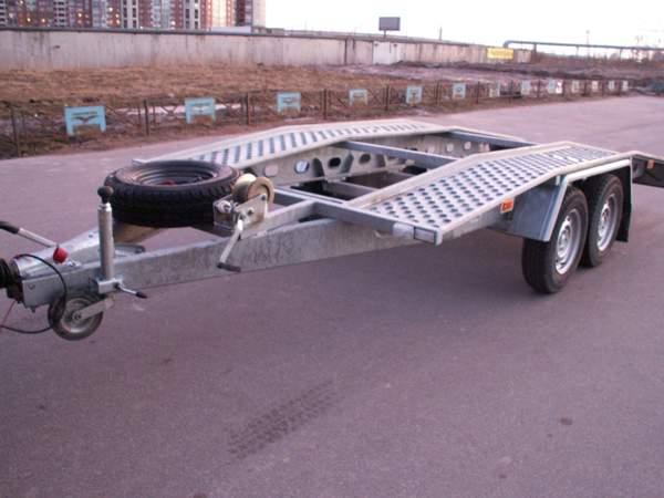 Прокат(аренда) прицепа автовоза для перевозки авто